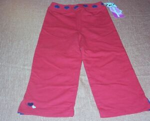 NWT-Just-Friends-Red-Knit-Pants-Size-2T