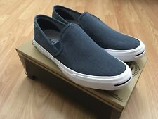 5446abc3927405 Converse Jack Purcell II Slip On Shoes Navy   White Men s Size 9.5 153036C