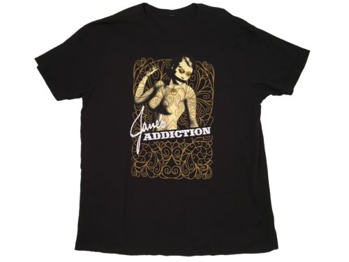 JANES ADDICTION 2009 TOUR BAND T SHIRT RARE VINTAG