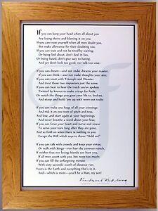 Framed-print-of-Rudyard-Kiplings-inspirational-poem-If