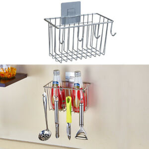 Image Is Loading Kitchen Sponge Holder Sink Caddy Organizer Stainless Steel