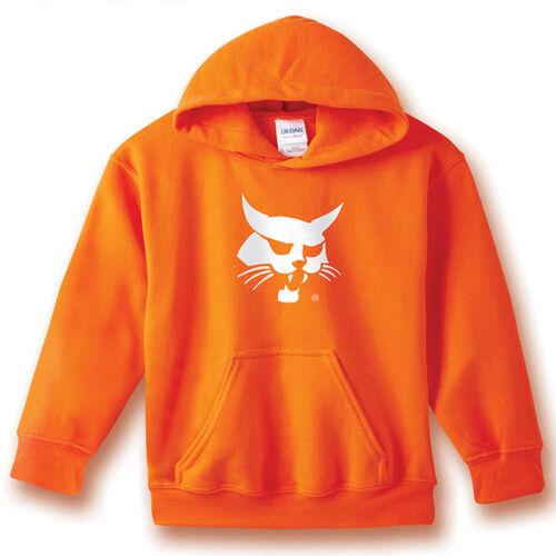 Bobcat Orange Hoodie Toddler Size 100/% Cotton  250226