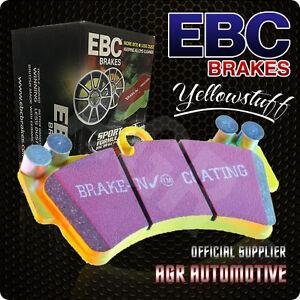 FAST STREET, TRACK, RACE EBC YELLOWSTUFF BRAKE PADS FRONT DP4143R