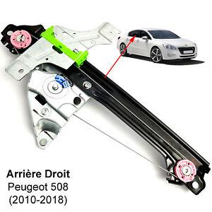 Leve-Vitre-Peugeot-508-ARRIERE-DROIT-Berline-ou-SW-2010-2018