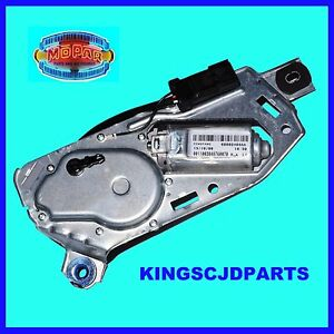 Rear Wiper Motor And Washer Fluid Jet Nozzle 2007 2016