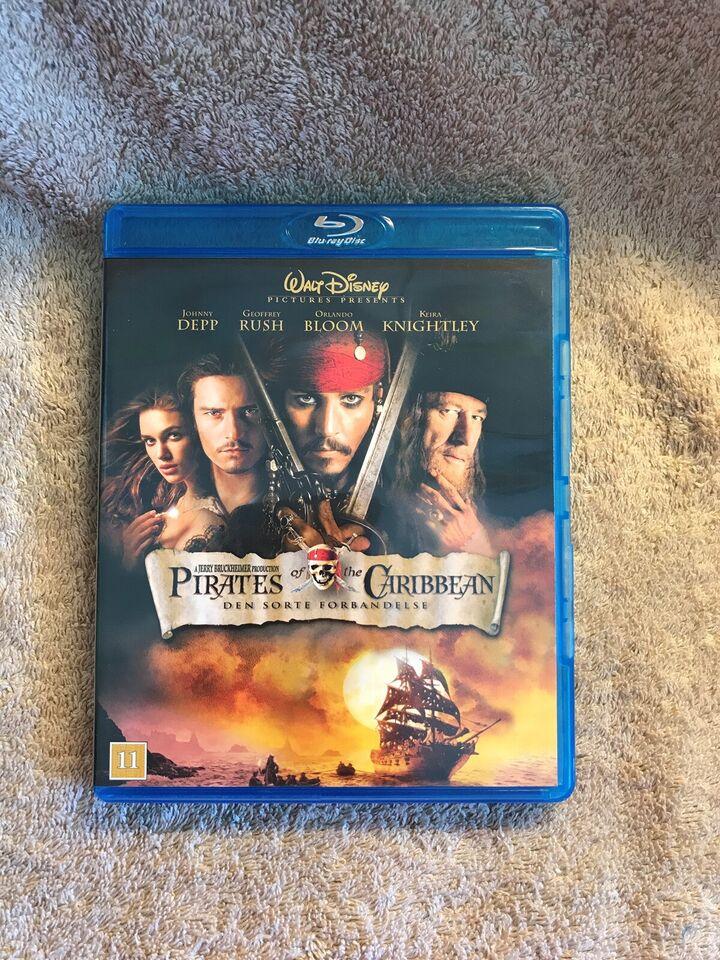 Pirates of The Caribbean Den sorte forbandelse ,
