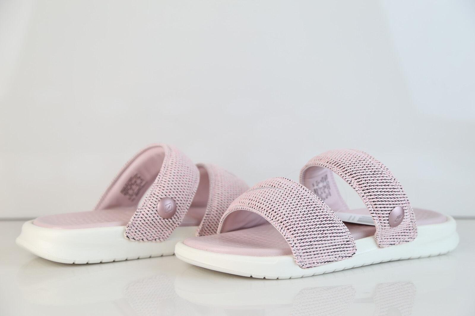 Nike Lab Benassi Pigalle Duo Ultra Slide Carnation Rose Pink Sail 902783-600 8-1