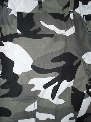 """Urban Camouflage Military Style Combat Cargo / Utility Trousers 42""""-46"""" - New Die Neueste Mode"""
