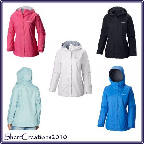 NWT Women/'s Plus Size COLUMBIA ARCADIA II Rain JACKET Waterproof
