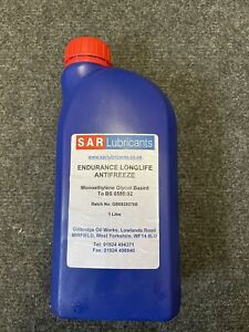 Red long life antifreeze Concentrate