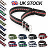 Nato Watch Strap Band Military Army Nylon Divers G10 Mens S.S Buckle Spring Bars