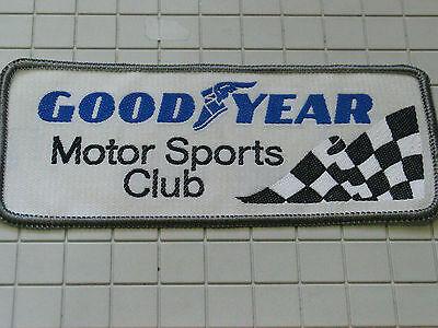 Generous Good Year Motor Deportes Del Club Carreras Con Parche, #4781 Delicacies Loved By All
