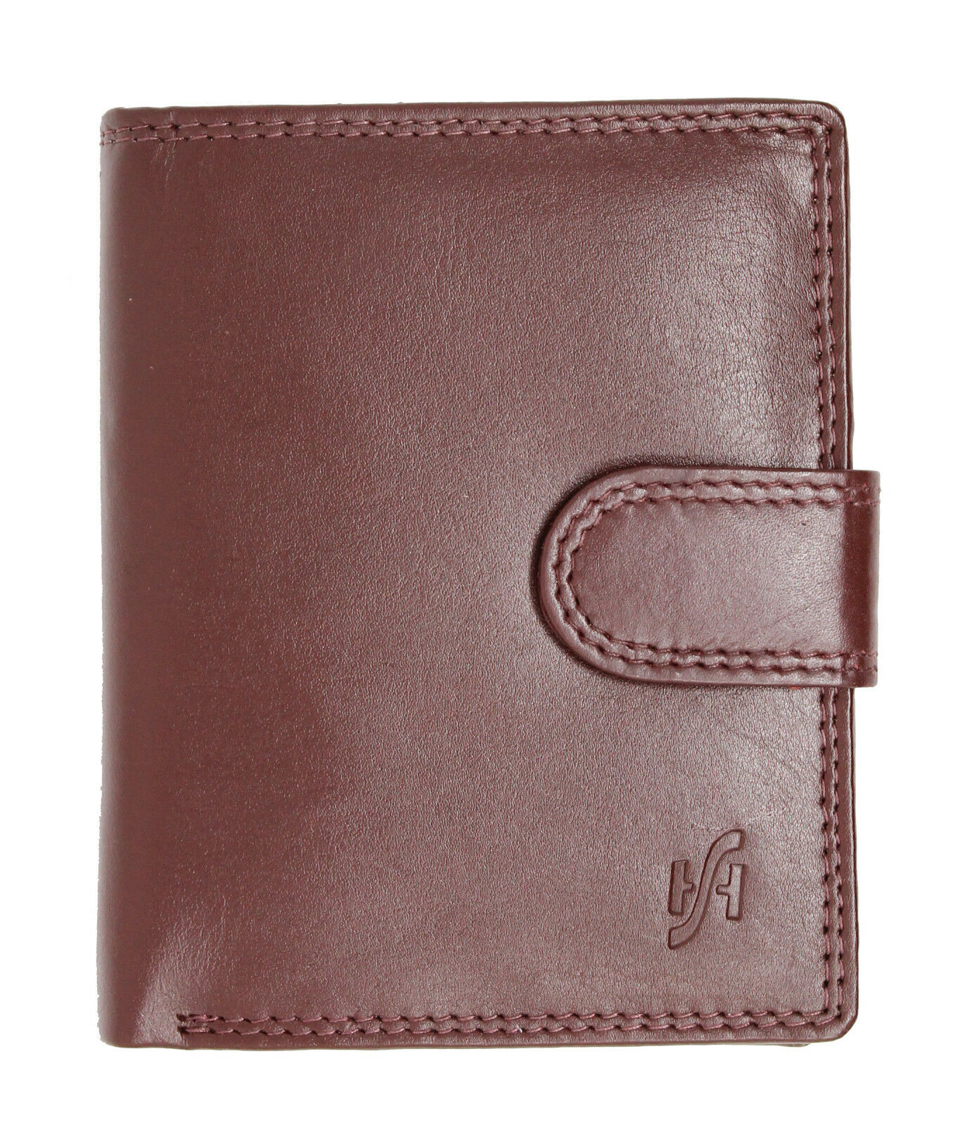 Unisex Genuine Soft Leather Wallet With Coin Purse Brown