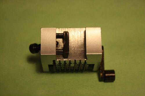 """New 3//16/"""" Rotary 7 Digit Straight Forward Numbering Machine Heidelberg GTO"""