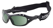 DIRTY DOG Curl II POLARISED Sunglasses BLACK / GREEN WET GLASS (FLOATING) 53397