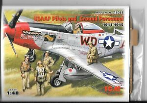 ICM-USAAF-Pilots-and-Ground-Personnel-1941-45-5-Figures-in-1-48-083