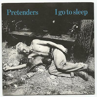 """PRETENDERS~I GO TO SLEEP/ENGLISH ROSES 1981 UK IMPORT 7"""" REAL RECORDS w/PS"""