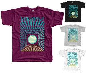Tame Impala V3, Psycho - rock band T-SHIRT (BURGUNDY BLACK ZINK WHITE) S-5XL - Przemysl, Polska - Tame Impala V3, Psycho - rock band T-SHIRT (BURGUNDY BLACK ZINK WHITE) S-5XL - Przemysl, Polska