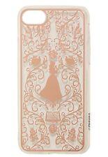 Disney Beauty & The Beast Belle Filigree Clear & Gold iPhone 7 Case NIP!