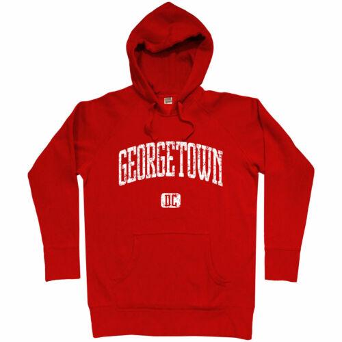 Men S-3XL Georgetown Hoodie Washington DC Hoyas University 202 Nationals DCA