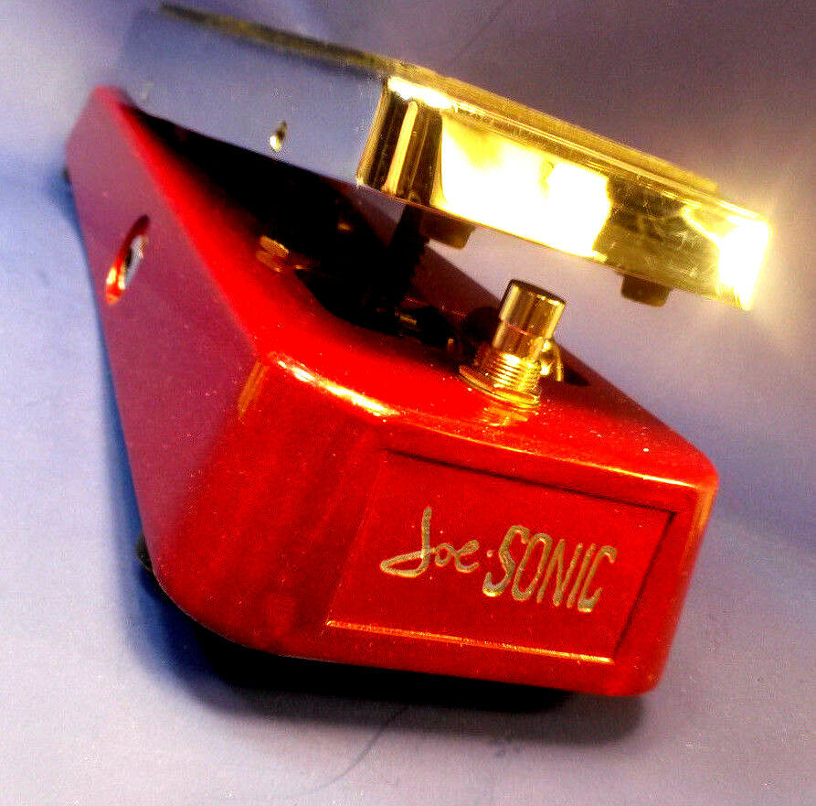 NEW   JOE-SONIC wah V2,like Farbesound musonic-'BRIGHT' 50k version