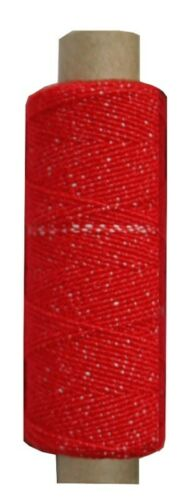9961 Goma hutgummi nähfaden 30 m 1 mm rojo