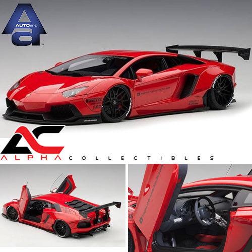 AUTOART 79108 1 18 Liberty Walk LB-Works Lamborghini Aventador Rouge