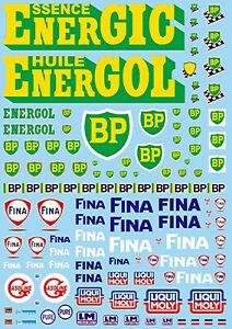 Motorsport-Sponsors-Arc-No-11-Bp-Fina-Liqui-Moly-1-43-Sticket-Stickers