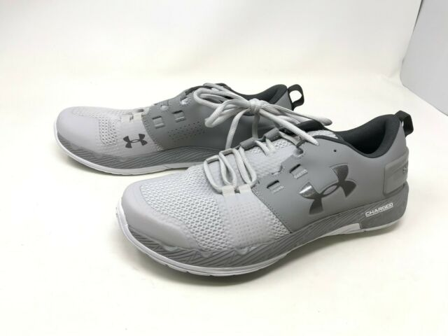 online store a33ad 72910 Mens Under Armour (1285704-003) Commit TR Ex Grey Training Shoes (421S-T)