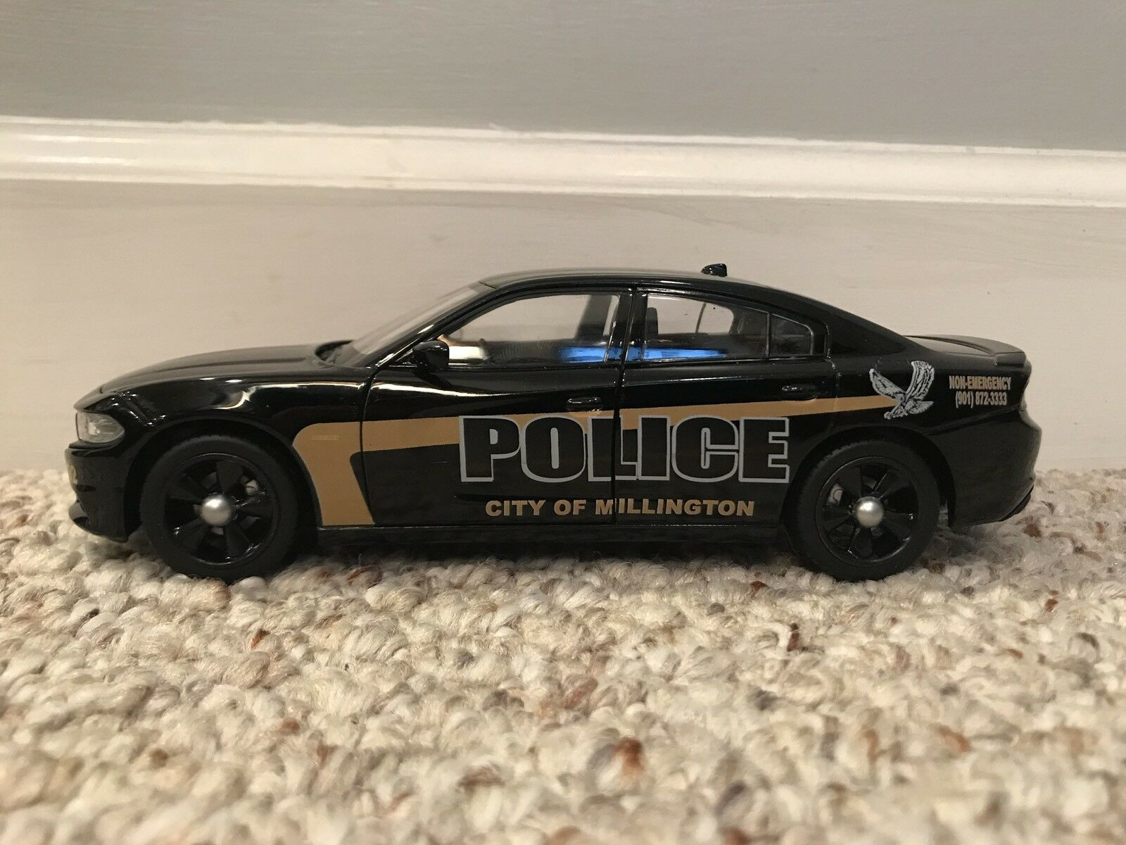 Millington Tennessee policía 1 1 1 24 2015-2018 Dodge Cargador 2665dc