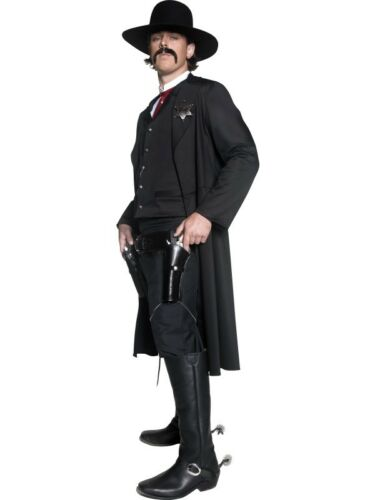 Authentic Western Sheriff Adult Mens Smiffys Fancy Dress Costume