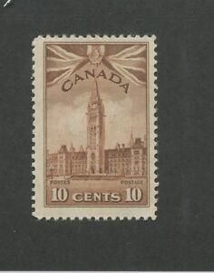 1942-Canada-Parliament-Buildings-10c-Postage-Stamp-257