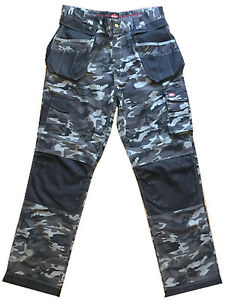 3856d31bbb Image is loading Lee-Cooper-Camouflage-Trouser-Cargo-Knee-Pad-Holster-