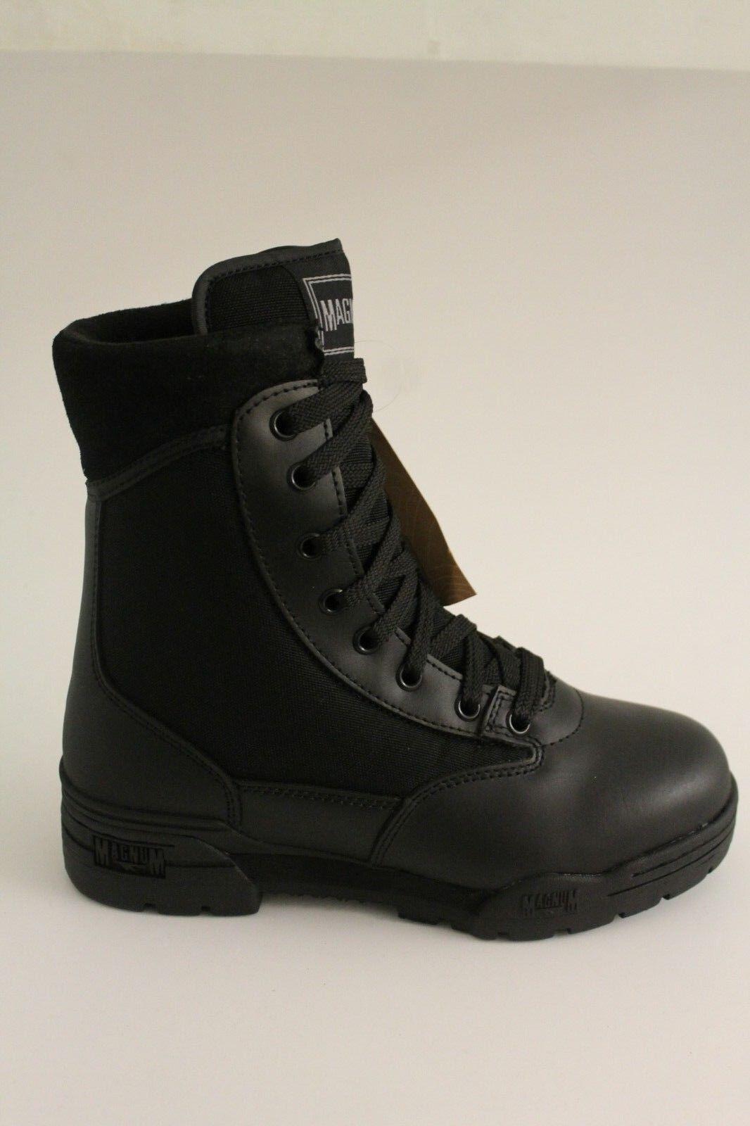 Hi-Tec Magnum Classic Stiefel Leather Nylon Slip Resistant NON SAFETY