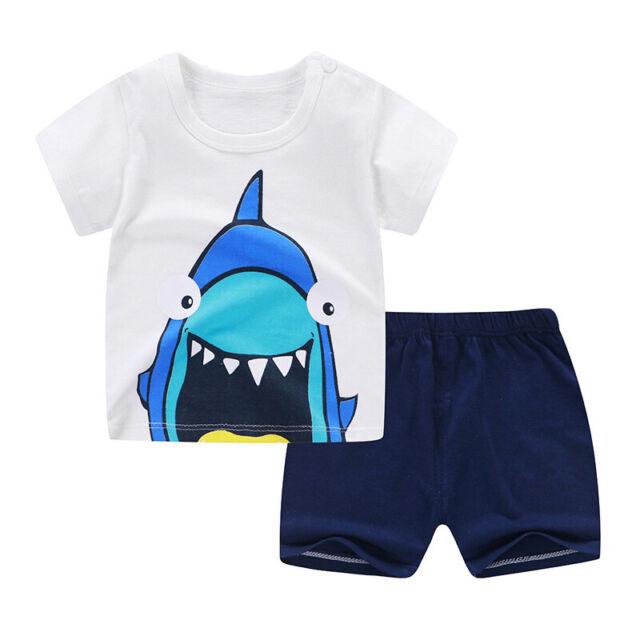 Conjunto Ropa Para Bebes Chico Niño Niña Traje de Moda de Bebé Baby Clothing Set