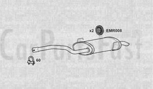 Exhaust Middle Box Fiat Ulysse 2.0 Petrol MPV 01//2003 to 09//2006