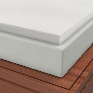 """Soft Sleeper 5.5 King 3/"""" Memory Foam Mattress Pad W// FREE PILLOW!"""