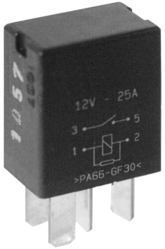 MONARK Micro Relais 12 V single contact relay 25 A Schließer mit Widerstand
