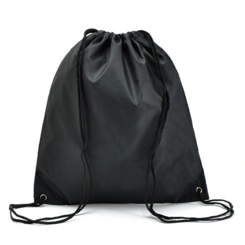 Girls Boys Drawstring Swim Sport Shoes Dance Bag Schoolbag Backpack PE Gym Bags
