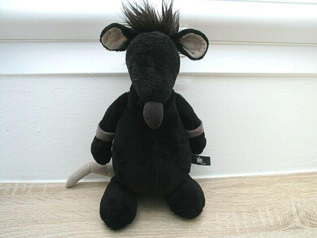 Ratte aus Plüsch NICI Rockstar Baby Rassel Stofftier Plüschtier NEU