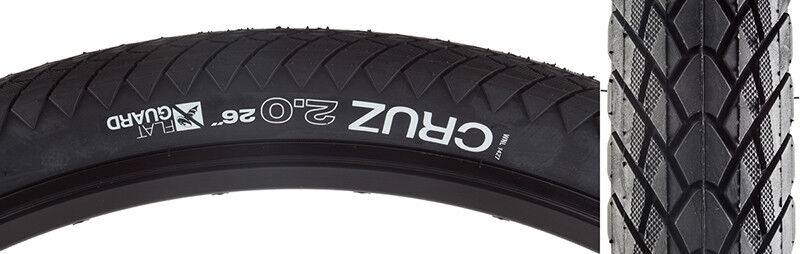 Wtb Cruz Flat Guard Tire Wtb Cruz 26x2.0 Flat Guard Wire