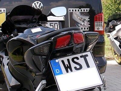 Kennzeichenhalter für Suzuki GSX-R 600 750 2008-2010