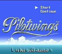 Pilotwings - Fun SNES Super Nintendo Game
