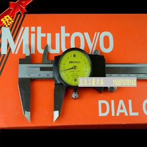 HOT-new-Mitutoyo-505-671-Dial-Caliper-0-150mm-X-0-01mm-titanium-Dial-caliper