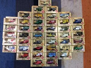 Lledo-Days-Gone-Lot-of-43-die-cast-cars