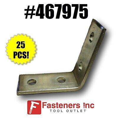 P1546 2-Hole 45° Open Corner Angle for Unistrut //B-Line Channel 25//Box #467645
