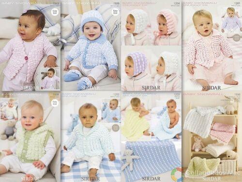 Sirdar Baby Snowball Patterns 1202-1943 £2.50 per pattern
