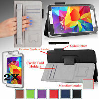 For Samsung Galaxy Tab 4 7.0 7 Inch Tablet T230 Pu Leather Case Cover Stand