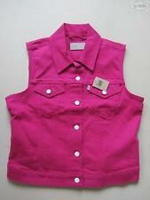 Levi's® Biker Jeans Weste Jeansweste Gr. L, NEU ! Pink Coloured Denim, RARITÄT !