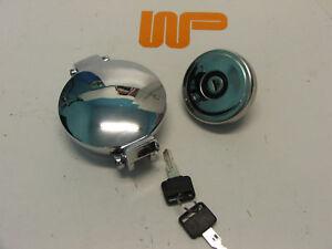 CLASSIC MINI - LOCKING FUEL CAP WITH MATCHING ASTON CAP - GAC4124X - GSS154